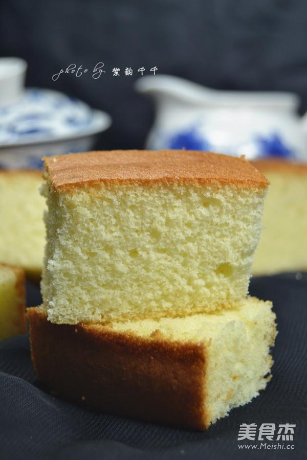 老式蛋糕成品图