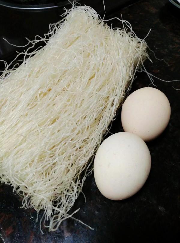 番茄鸡蛋米粉的家常做法