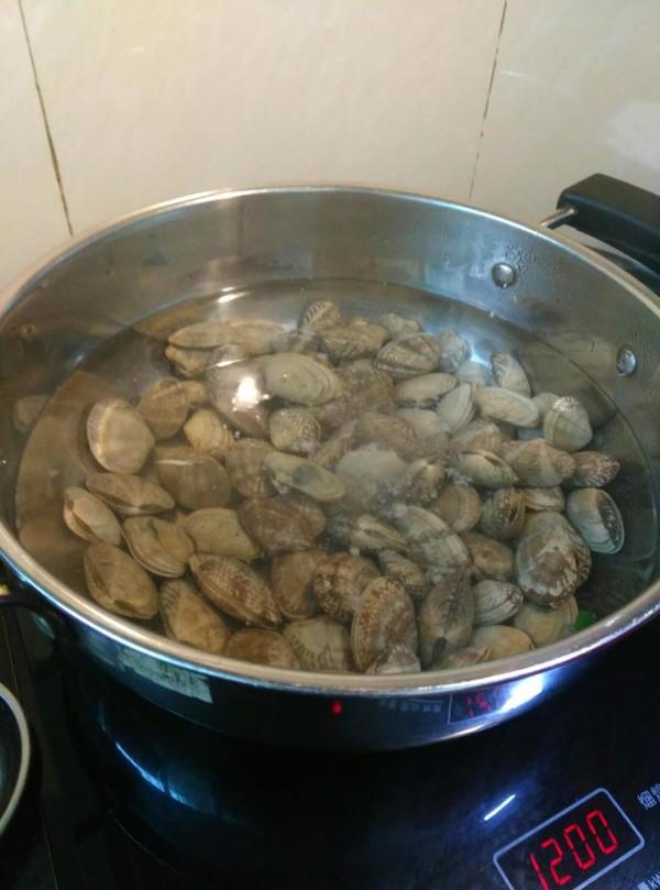 炒花蛤的简单做法
