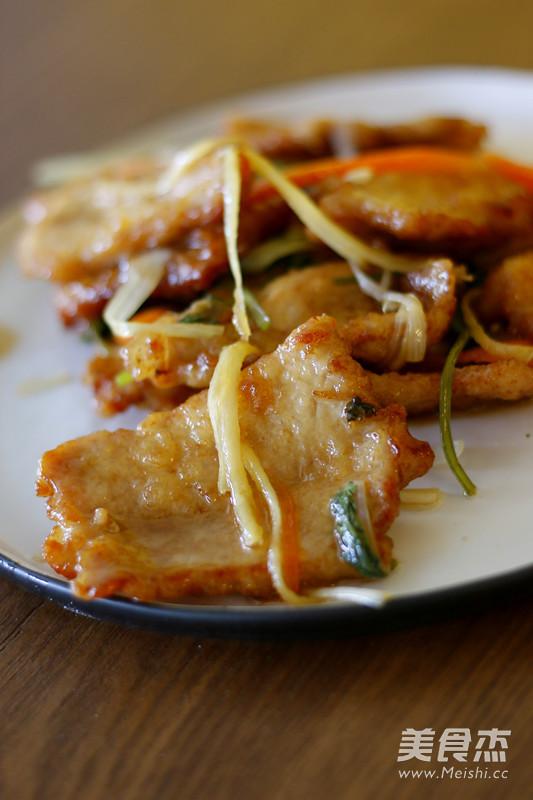 老式锅包肉成品图