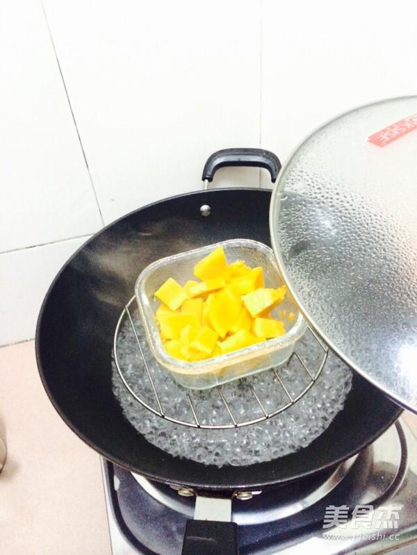 南瓜鸡蛋饼的做法图解