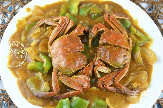 霸王超市 泰式咖喱蟹成品图