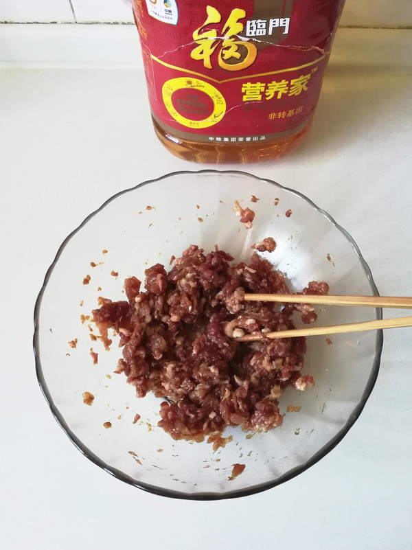 招牌肉饼#福临门营养家#的家常做法
