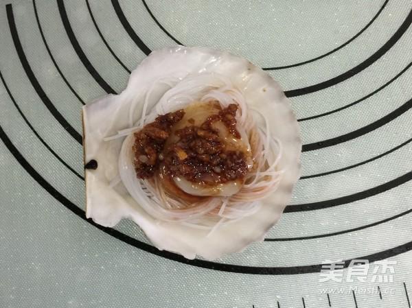 蒜蓉粉丝蒸扇贝怎么做