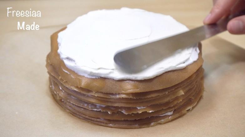视频 摩卡千层蛋糕怎么煮