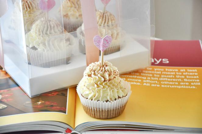 提拉米苏Cupcakes成品图