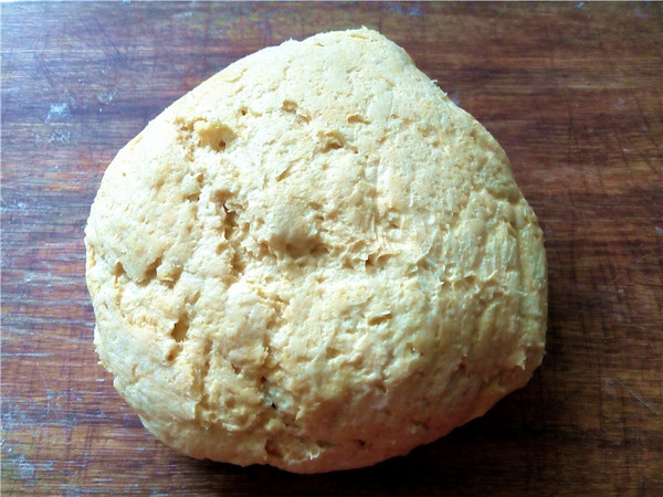 绿豆沙馅南瓜包的简单做法