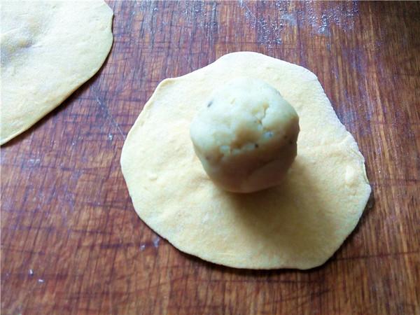 绿豆沙馅南瓜包怎么煮