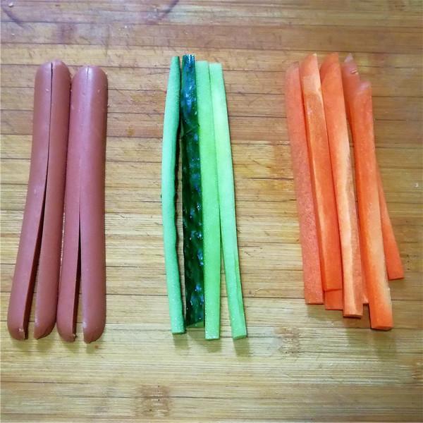紫菜包饭的做法图解