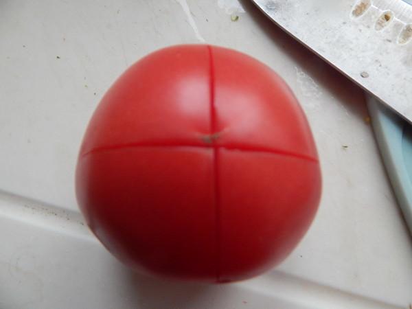 茄子双菜花泥的简单做法