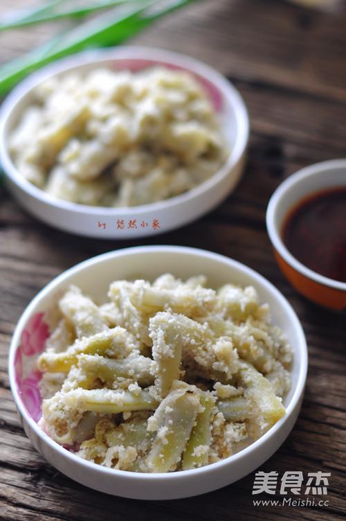豆角蒸菜成品图