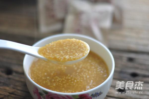 红糖小米粥成品图