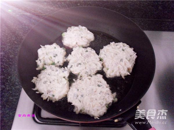 虾皮萝卜香煎饼怎么做