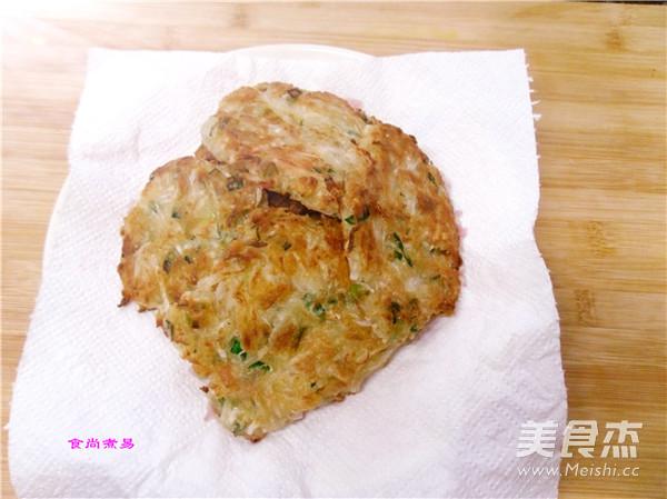 虾皮萝卜香煎饼怎么煮