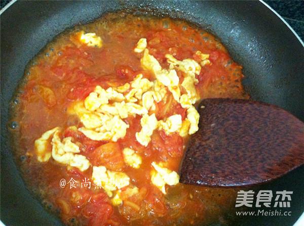 番茄鸡蛋拌面怎么煮