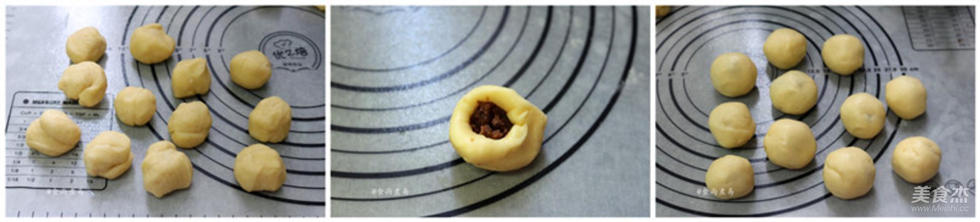 麻糬绿豆酥的家常做法