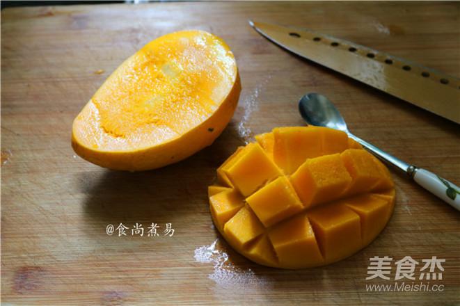 芒果奶龟苓膏怎么做