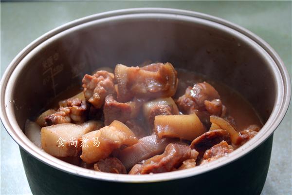 红烧猪头肉怎么炒