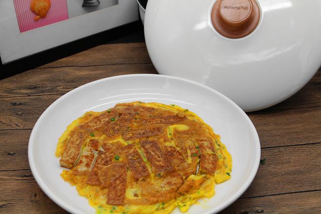 鸡蛋煎豆腐怎样做
