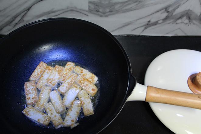 鸡蛋煎豆腐怎么煮