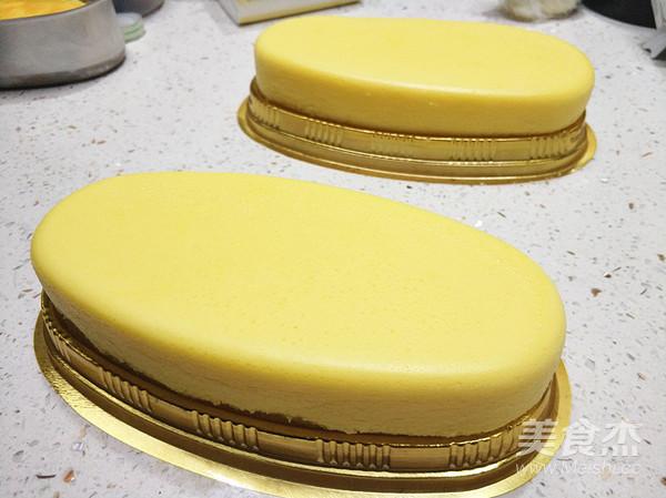 轻乳酪蛋糕成品图