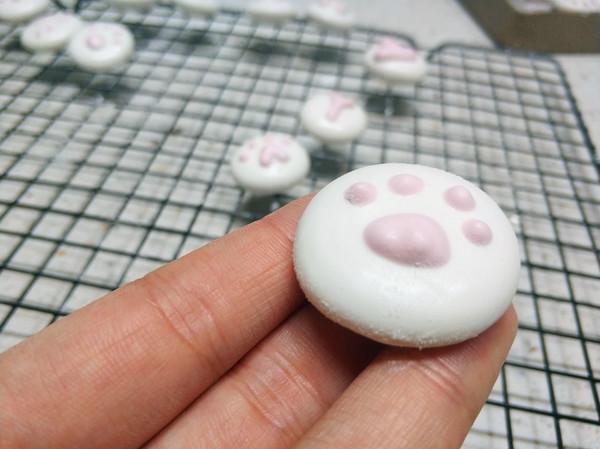 哄娃利器-猫爪棉花糖成品图