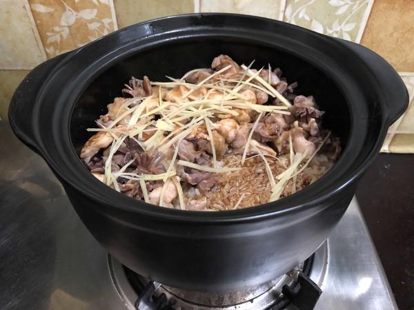 砂锅鸡肉煲仔饭怎样炒