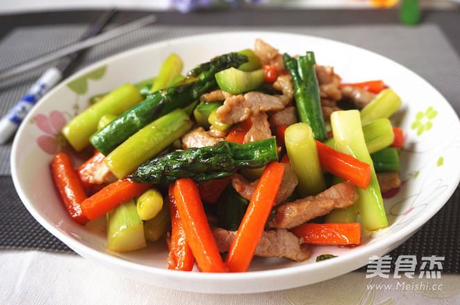 芦笋炒肉丝怎么煮