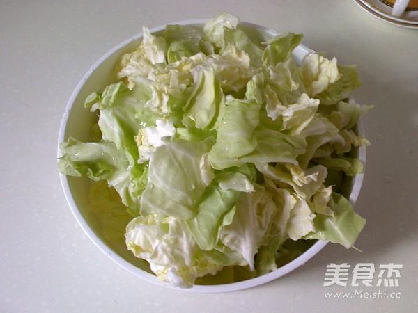 糖醋圆白菜的做法图解