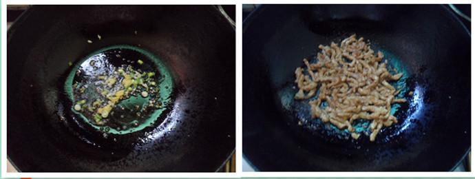 肉丝炒刀削面的家常做法