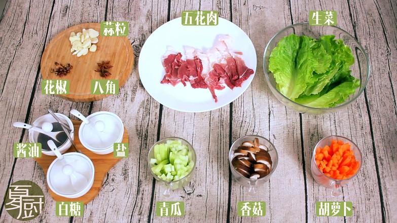 韩式菜包肉的做法大全