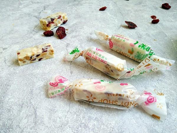 蔓越莓花生牛轧糖的做法大全