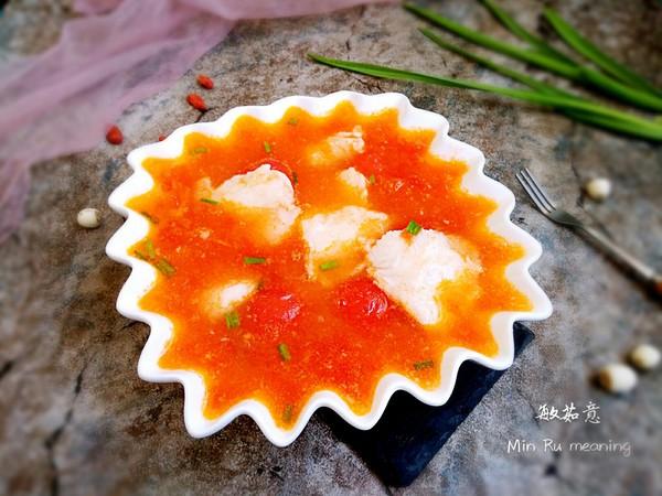 番茄龙利鱼成品图