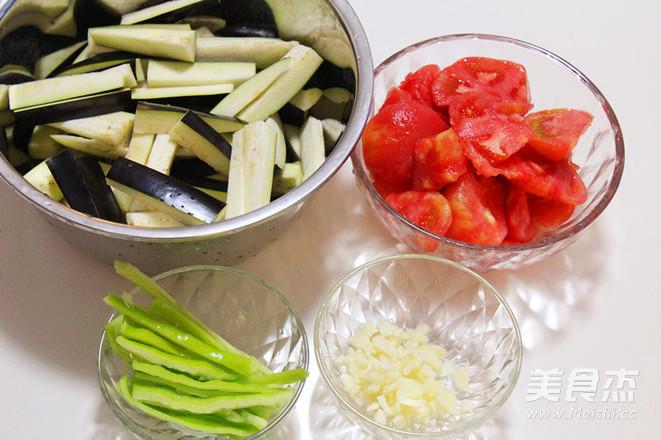 西红柿烧茄子的家常做法
