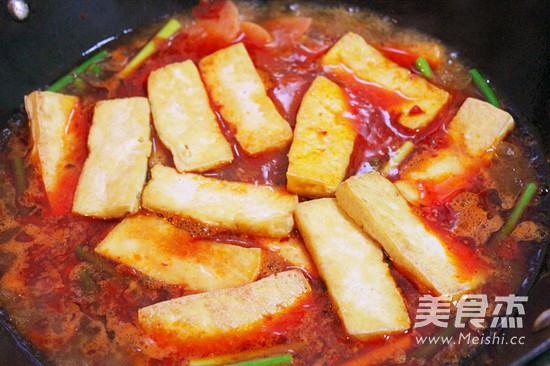 水煮豆腐怎么炒