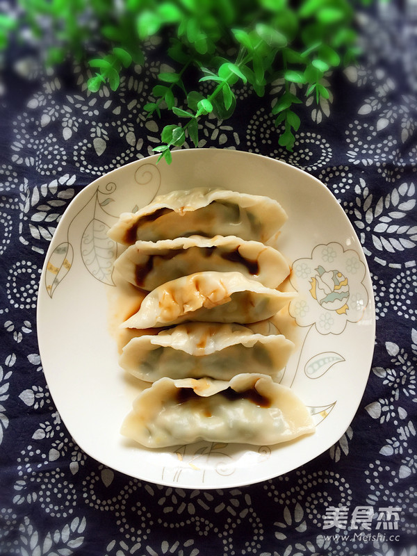 韭菜猪肉饺子怎么炖