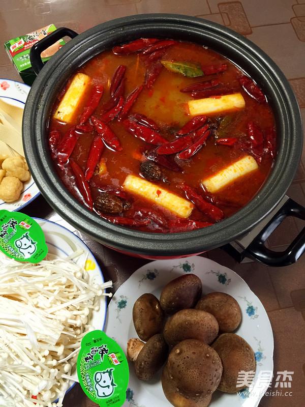 麻辣羊肉火锅怎么煮