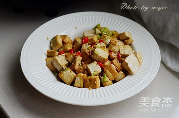香炸豆腐成品图