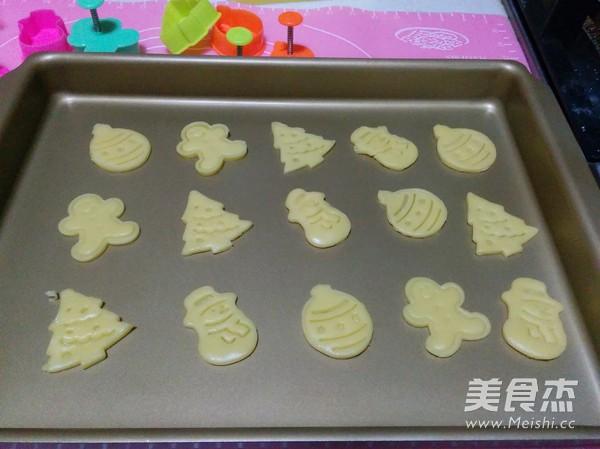 圣诞树糖霜饼干怎样煸