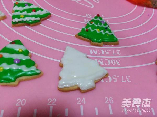 圣诞树糖霜饼干的制作大全