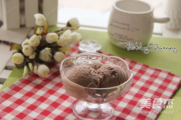 巧克力冰淇淋成品图