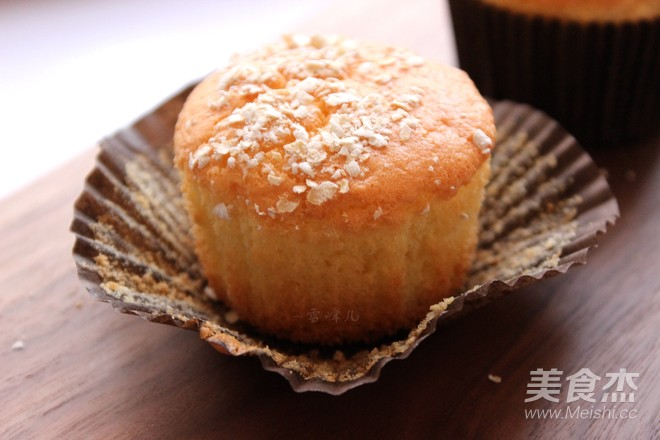 燕麦海绵小蛋糕成品图