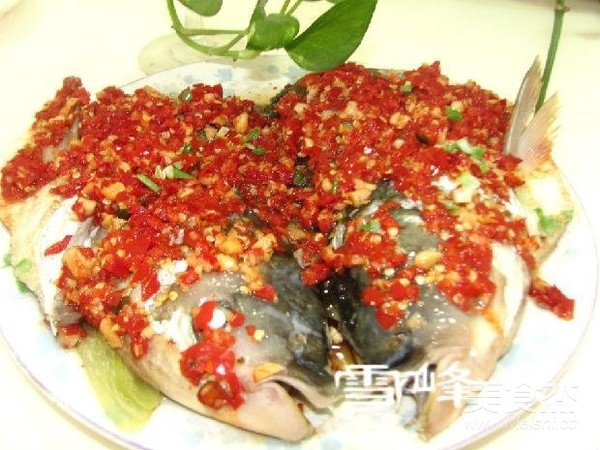 剁椒鱼头成品图