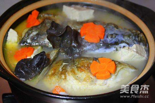 砂锅豆腐鱼头汤怎么做