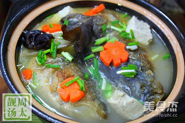 砂锅豆腐鱼头汤怎么炒