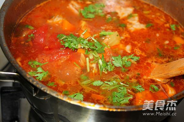 番茄咖喱炖牛腩怎么煸
