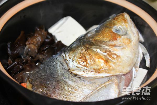 砂锅豆腐鱼头汤的简单做法