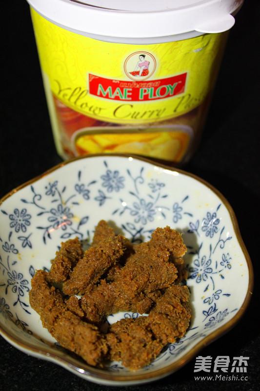 番茄咖喱炖牛腩怎么煮