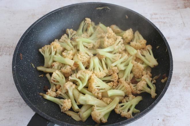 酱香有机菜花怎么煮