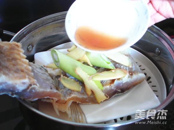 含丰富维生素之蒸咸鱼的简单做法